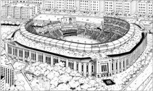 Yankee Stadium in Bronx, NY