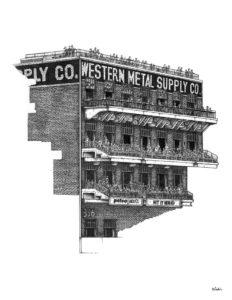 Western Metal Building at Petco Park